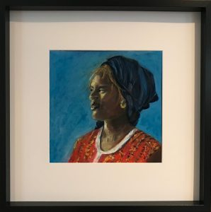 Oil on canvas 53 x 53 cm
